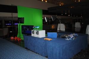Green Screen Photo Favor Set Up